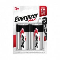 PILE ALCALINE MAX ENERGIZER D LR20 1