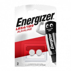 PILE TYPE LR54/189 ENERGIZER (CARTE 2 PILES)