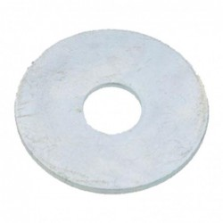 RONDELLE PLATE EXTRA LARGE TYPE ''LL'' SERIE LL ACIER ZN BLANC